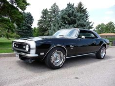 1968 Camaro, I'm kind of partial to the '68.  SOOO Good Looking!