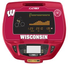 Wisconsin Badgers Cybex Arc Trainer | Cirrus Fitness