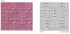nice beautiful knitting stitches pattern lace aran красивые узоры на спицах click to large
