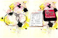 lescrapananat: DT Jennie craft , une page néon , et un petit TUTO stabilo !!!!