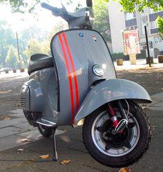Vespa Farben RAL 7000 Fehgrau