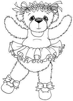 Beccy's Place: Ballerina Bear