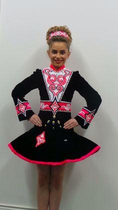 *Doire Dress Designs Irish Dance Solo Dress Costume*