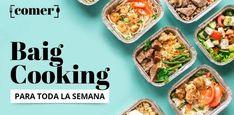 'Baig cooking': aquí tienes el menú para la semana del 20 de enero Chefs, Batch Cooking, Weekly Menu, Fried Rice, Fries, Salads, Health, Ethnic Recipes, Food