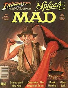 """""""Mad"""" double feature: """"Indy 2,"""" mermaid on Madison won (and that's why your daughter is named Madison)."""