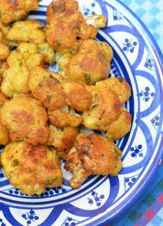 Moroccan Fried Cauliflower