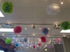 Make your own tissue paper ball! A great addition to any room.