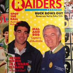 FLASHBACK: Canberra Raiders captain Mal Meninga, with Raiders No. 1 ticketholder, Prime Minister Bob Hawke in 1991.