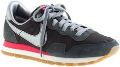 J.crew Black Nike Vintage Collection Air Pegasus 83 Sneakers