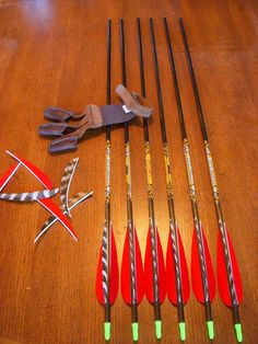 With a little time and a few simple tools, you can fletch your own arrows to your own specifications and preferences.  Well worth it!