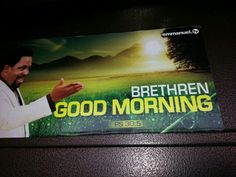 The refreshing anointing of the morning dew satisfy the soul. For joy cometh in the morning. Morning Dew, Good Morning, T B Joshua, Emmanuel Tv, Deliver Me, Christianity, Prayers, Lord, Bible