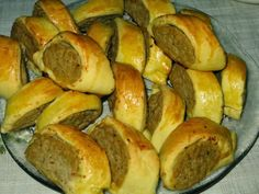 Polish Recipes, New Recipes, Cooking Recipes, Polish Food, Appetizer Recipes, Appetizers, Savoury Baking, Bread Rolls, Tapas