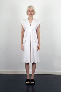 702dcf41d4f RACHEL COMEY   New Gambit Dress   Dirty White