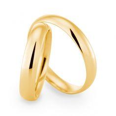 Eheringe gold schlicht  Eheringe klassisch schlicht, Roségold | anillos | Pinterest ...