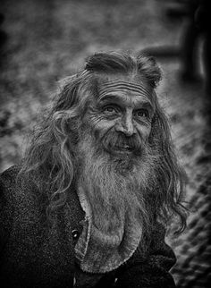 Street Wise by Gavin Byrne, via - what that on the top, clipped back with a barrette? Scary to me Respect Your Elders, Old Faces, Under The Moon, Barrette, People Around The World, Interesting Stuff, Diversity, Beards, Thunder
