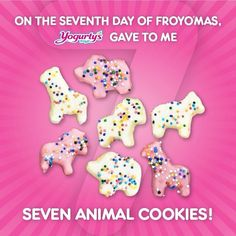 """@Yogurty's Froyo's photo: """"On the seventh day of #Froyomas, Yogurty's gave to me.. """""""