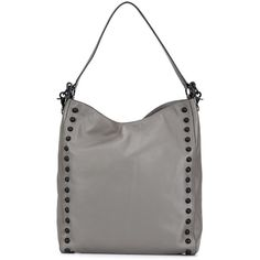 Loeffler Randall studded hobo bag ($560) ❤ liked on Polyvore