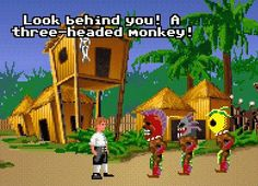 that used to crack me up! treasure monkey island