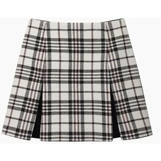 Carven Tartan Wool Mini and other apparel, accessories and trends. Browse and shop related looks.