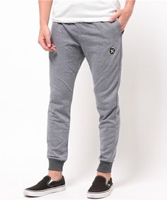 Hurley MENS(ハーレーメンズ)のDRI-FIT LEAGUE FLEECE PANT(パンツ)|グレー