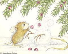 """""""Amanda"""" from House-Mouse Designs® featured on the The Daily Squeek® for December 27th, 2012. Click on the image to see it on a bunch of really """"Mice"""" products."""