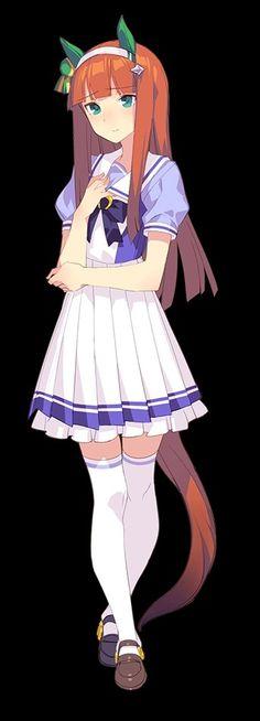 Silence Suzuka Nihon, Anime Girls, Anime Characters, Derby, Cosplay, Horses, Boys, Illustration, Pretty