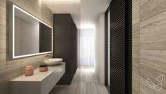 Appartement P - Lippenslaan Knokke - Lievois Bathroom Lighting, Mirror, Furniture, Home Decor, Homemade Home Decor, Bathroom Vanity Lighting, Mirrors, Home Furnishings, Decoration Home