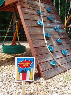 Superhero Birthday Party Ideas | Photo 30 of 45 | Catch My Party