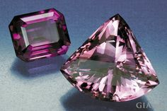 On the left is amethyst from Zambia. On the right is amethyst from Brazil.