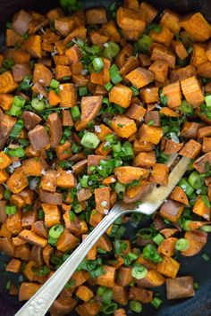 Chinese 5 Spice Sweetpotatoes are a perfect side dish for a California inspired Thanksgiving! Roasted with addictive spices & herb tossed - pure perfection.