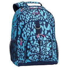 8d60b2cbdec6 FA15 Gear Up Classic Backpack Cheetah Bright Blue. Girl BackpacksSchool ...