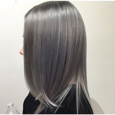 Doubletap if you'd love to #steel this look by @amicamiasalon! Cool shades of grey have never been hotter...