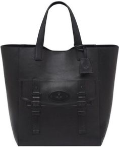 f22d4a5d61bda Auth Mulberry North South Maisie Tote in Black With Purse Rare