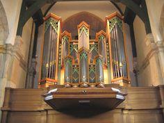 Schoonhoven - Bartholomeuskerk - Van Vulpen-orgel (1975)