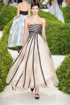 Christian Dior Haute Couture Show at Paris Fashion Week Spring 2013