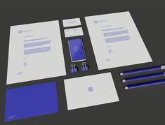 Office Stationery Set Invoice Design, Letterhead Design, Branding Design, Stationery Items, Office Stationery, Psd Templates, Brochure Template, Envelope Design, Business Branding