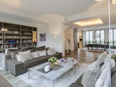 This penthouse is selling for over 12 million euros!! Paris - France