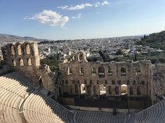 Greek Ancient Theatre New York Skyline, Theatre, Greek, Louvre, Vacation, Building, Travel, Voyage, Vacations