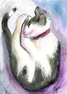 Catnap by Geri Centonze  http://art-of-crafts.net