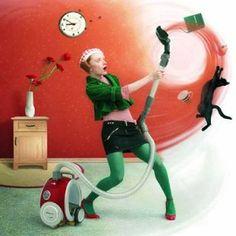 Уборка дома - сеанс психотерапии! Как изменить свое отношение к этому скучному, но необходимому делу? Есть счастливицы, которым нравится пылесосить, мыть