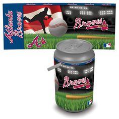 Atlanta Braves Digital Print Mega Can Cooler