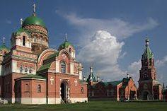 Храмы монастыря. Троекурово