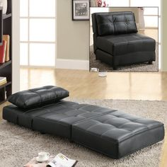 Sweet fold-able chair/mat byCoaster Fine Furniture 300173 Foldable Lounge Chair
