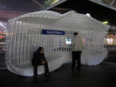 MIT Public Media Interfaces Bus Stop Paris