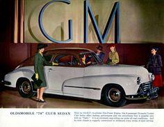 """13.jpg 1,282×992 pixels  1946 Olds """"78"""" Club Sedan"""