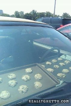 Really Ghetto Baking but in a Texas summer it could work... It just could work.