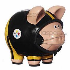 Alcancía de cerámica - Pittsburgh Steelers