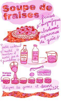 Tambouille» Soupe de fraises