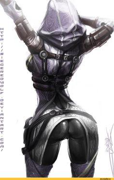 art,арт,Mass Effect,Игры,Tali