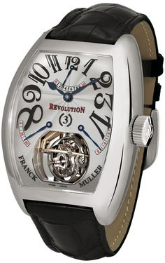 Revolution by Franck Muller www.bitwatch.nl bitcoin luxe horloge kopen met bitcoins pay with btc
